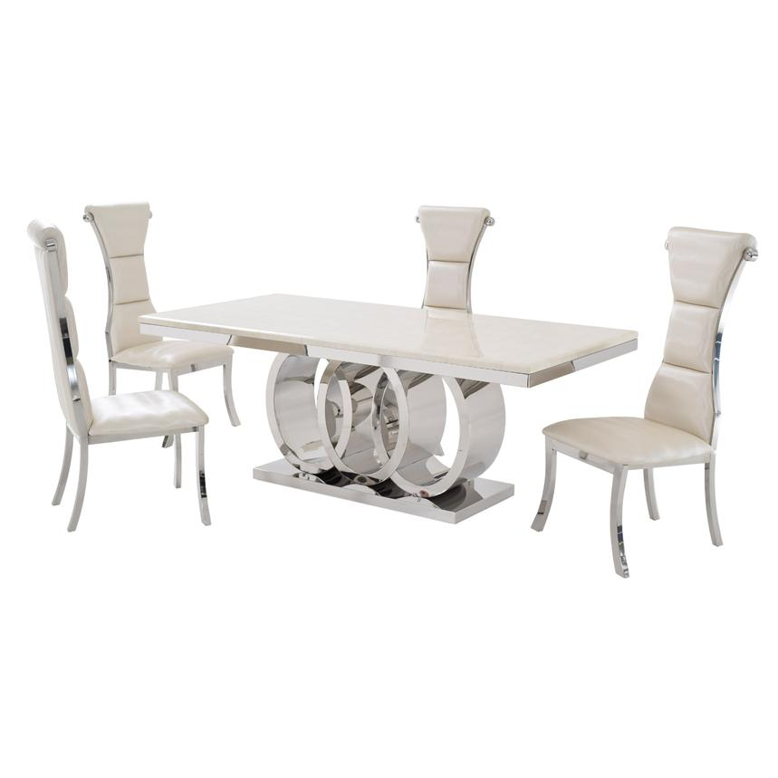Lillian 5 Piece Formal Dining Set El Dorado Furniture