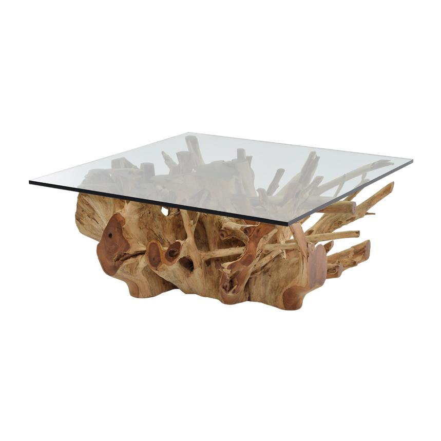 Natural Wood Coffee Table.Montana Natural Coffee Table