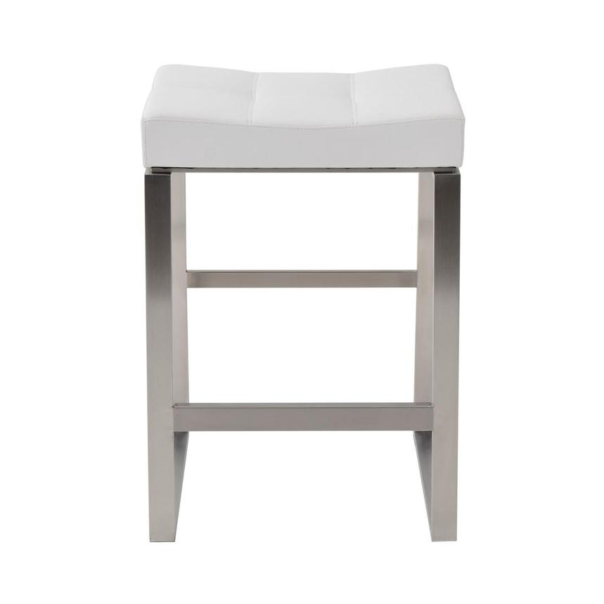 Sabriel White Counter Stool  main image, 1 of 5 images.