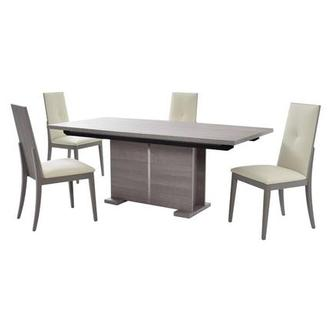 Tivo Gray 5-Piece Dining Set