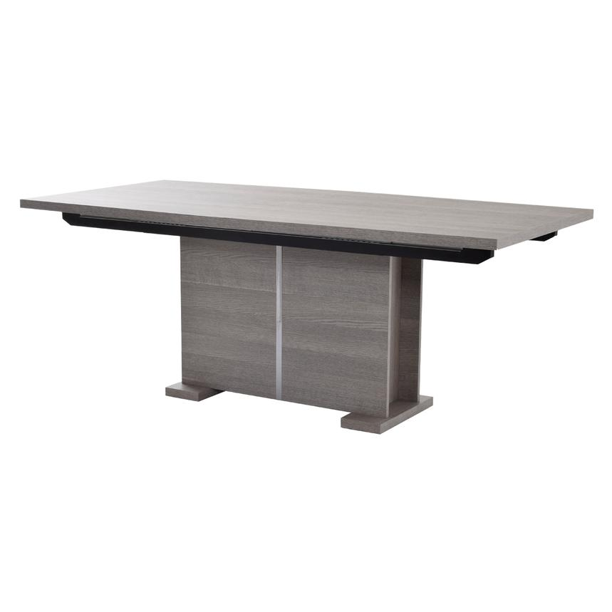 Tivo Gray Extendable Dining Table  main image, 1 of 7 images.
