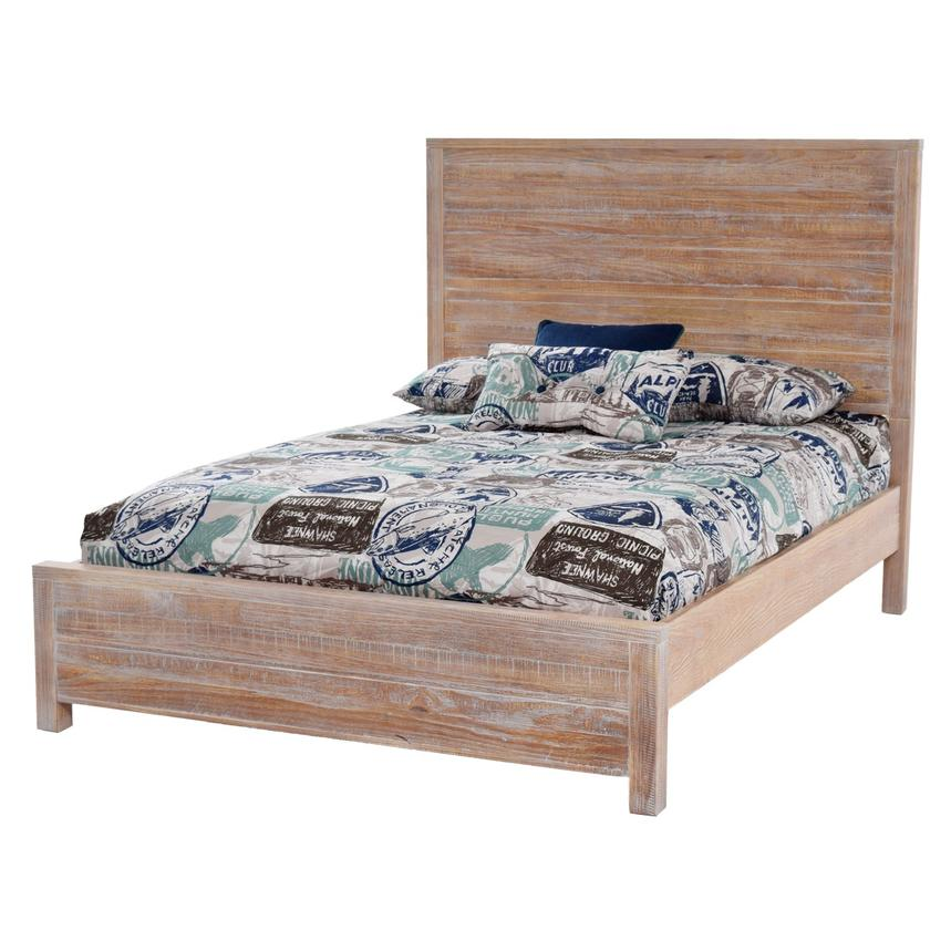 Merveilleux Montauk Natural Full Platform Bed Made In Brazil Main Image, 1 Of 5 Images.