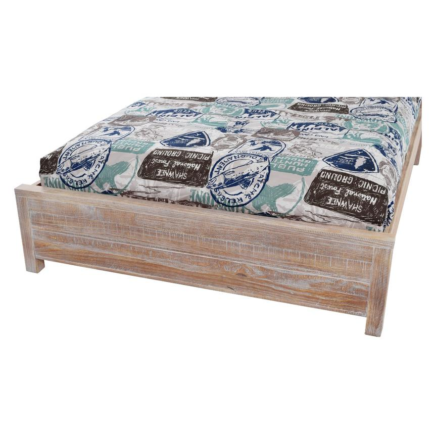 Montauk Natural Twin Platform Bed Made In Brazil El