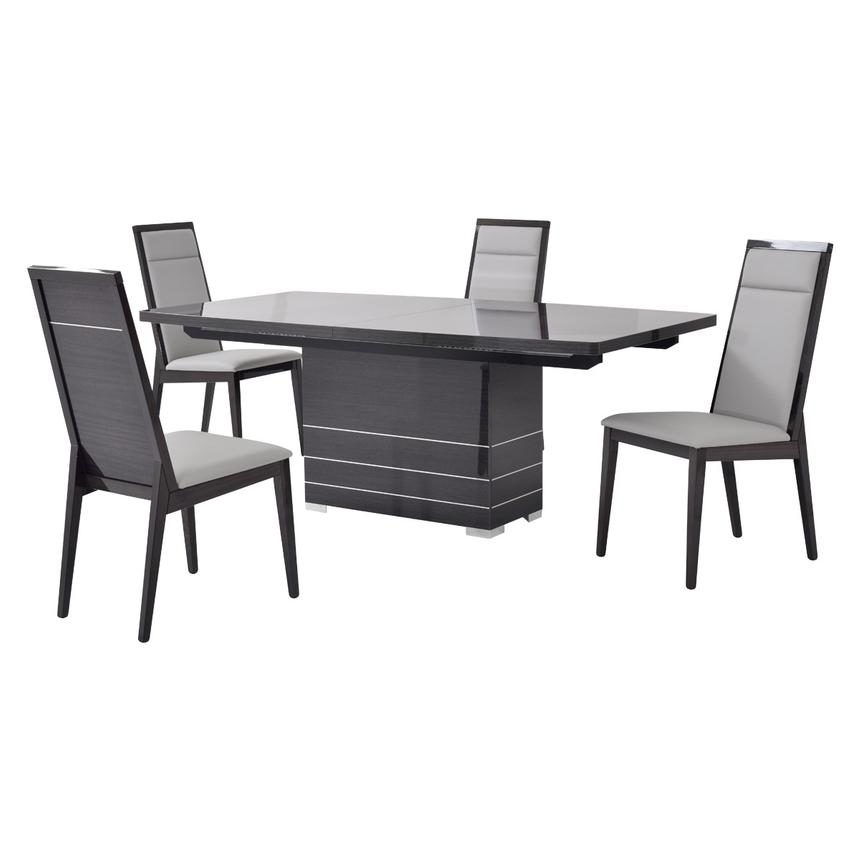 Valery 5-Piece Formal Dining Set Made in Italy  main image, 1 of 12 images.
