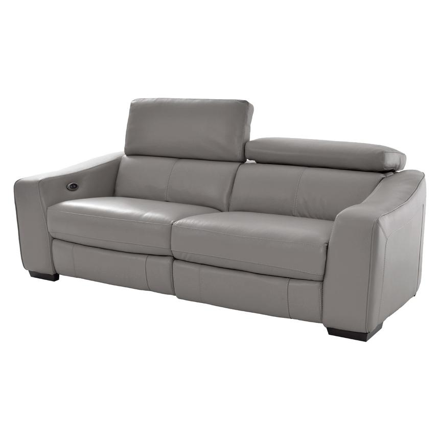 James Gray Power Motion Leather Sofa  main image, 1 of 9 images.