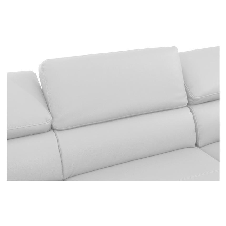 Costa White Oversized Sofa  alternate image, 5 of 7 images.