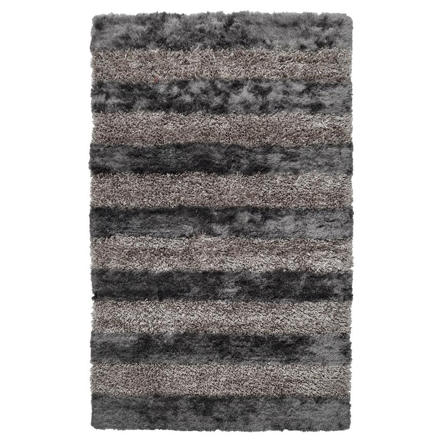 Fusion Gray 5' x 8' Area Rug  main image, 1 of 2 images.