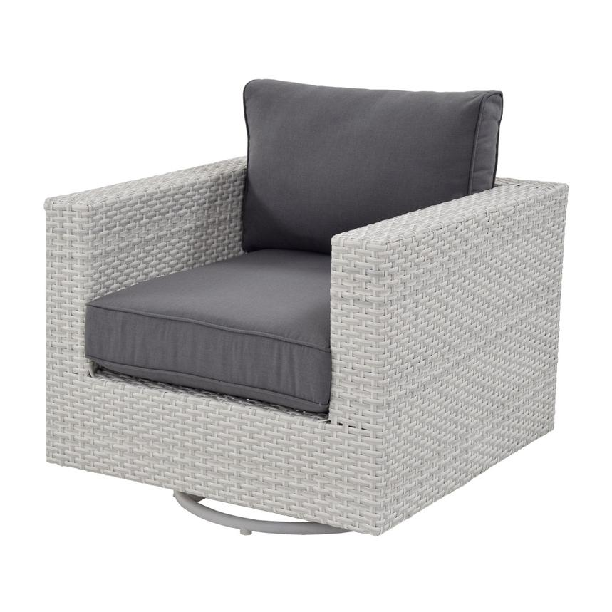 Awesome Ft Meyers Gray Swivel Chair Cjindustries Chair Design For Home Cjindustriesco