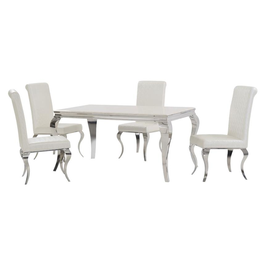 Lizbon 5-Piece Formal Dining Set  main image, 1 of 10 images.