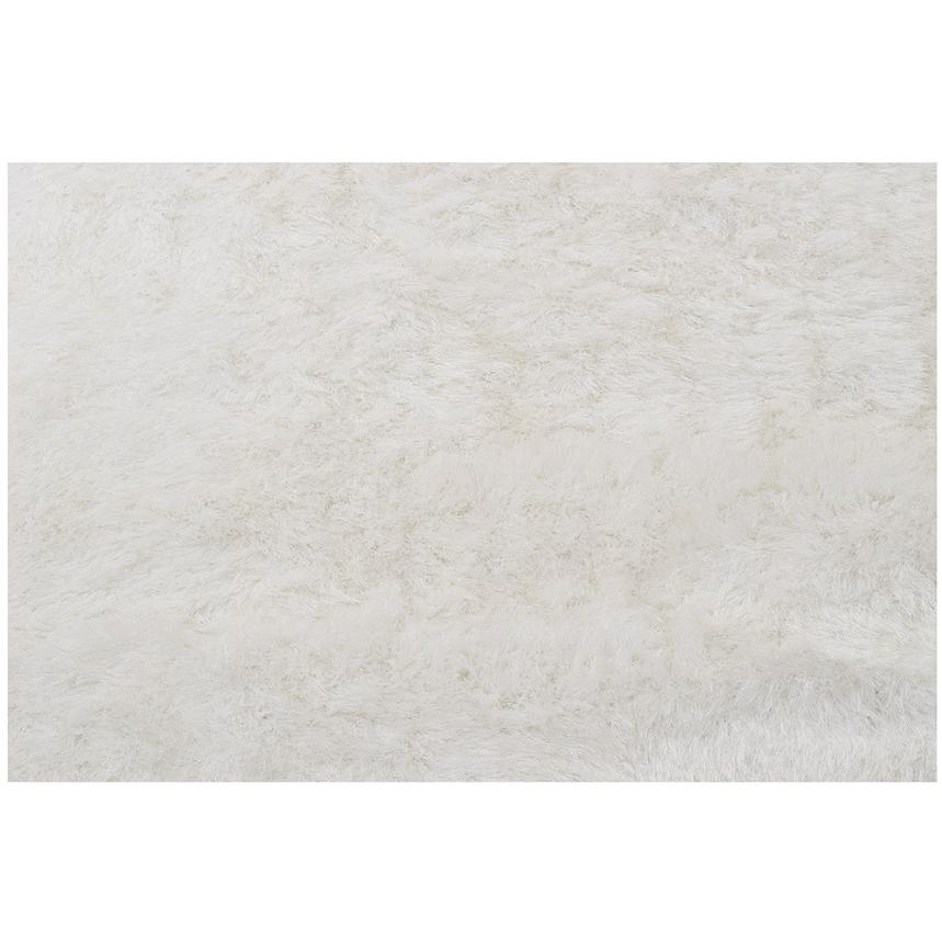 Milan White 5' x 7' Area Rug  alternate image, 2 of 3 images.