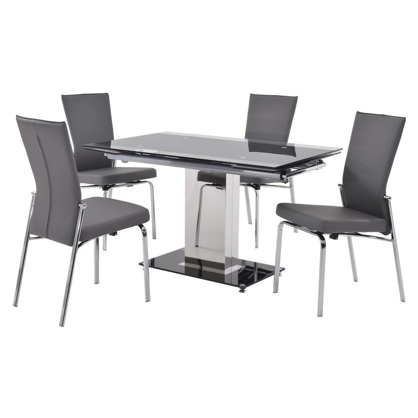Antonia Gray 5-Piece Casual Dining Set  main image, 1 of 12 images.
