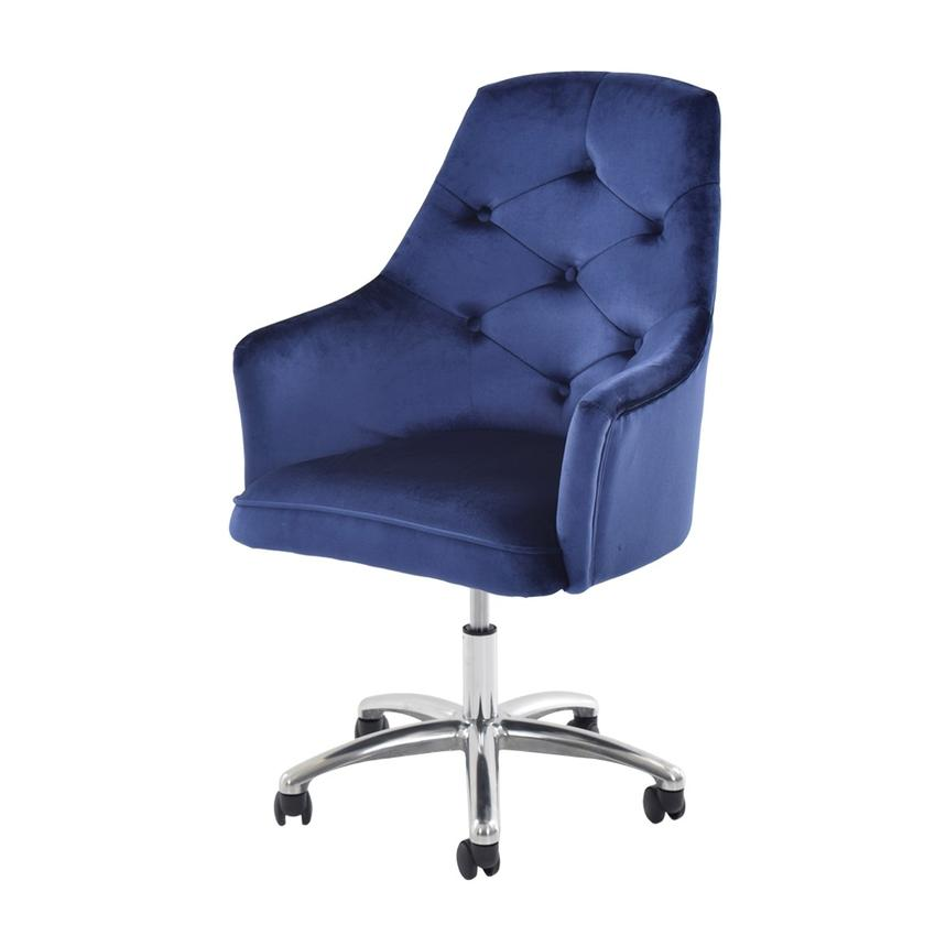 Bel Air Blue Desk Chair  main image, 1 of 7 images.