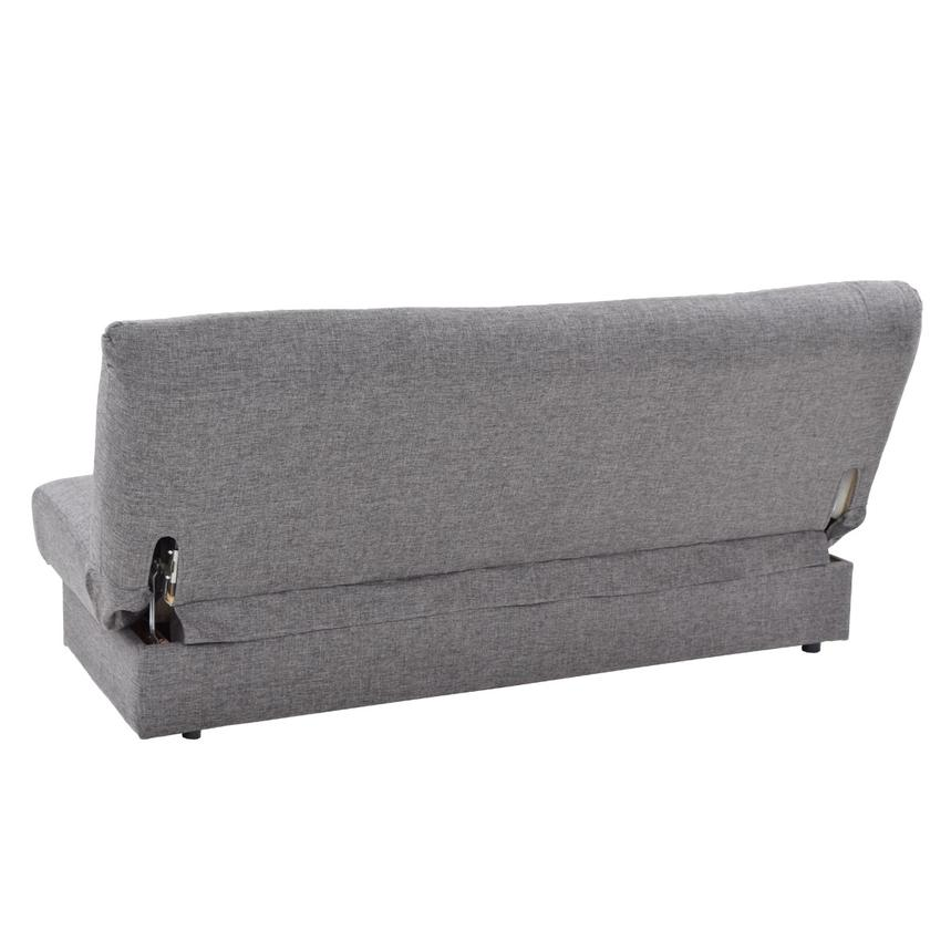 Regata Gray Futon w/Storage  alternate image, 6 of 9 images.