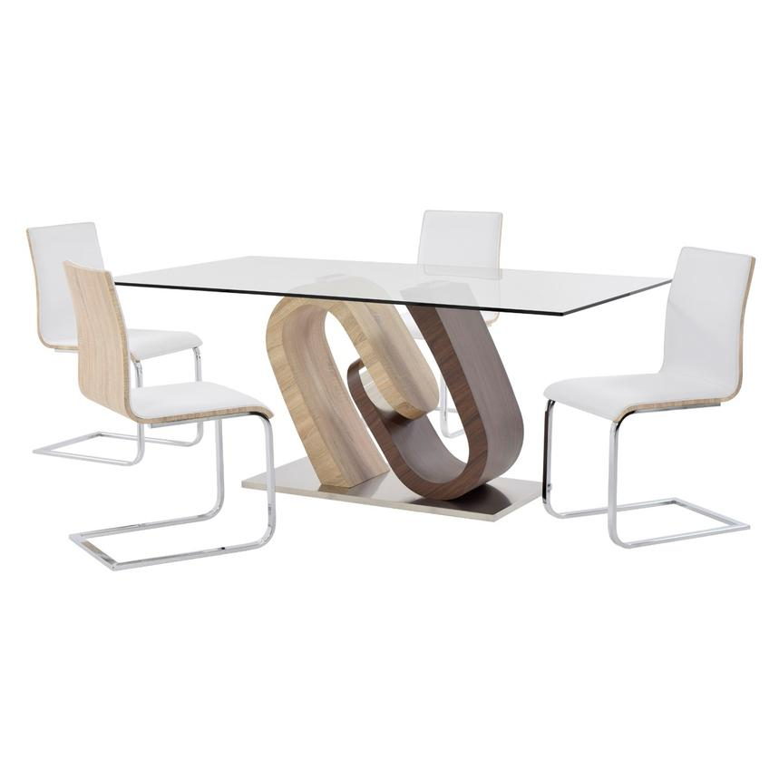 Serpentine/Solimar 5-Piece Casual Dining Set  main image, 1 of 12 images.