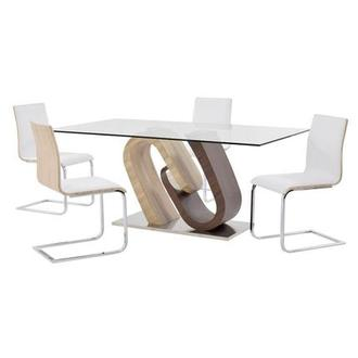 Serpentine/Solimar 5-Piece Dining Set