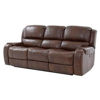Durham Leather Power Reclining Sofa