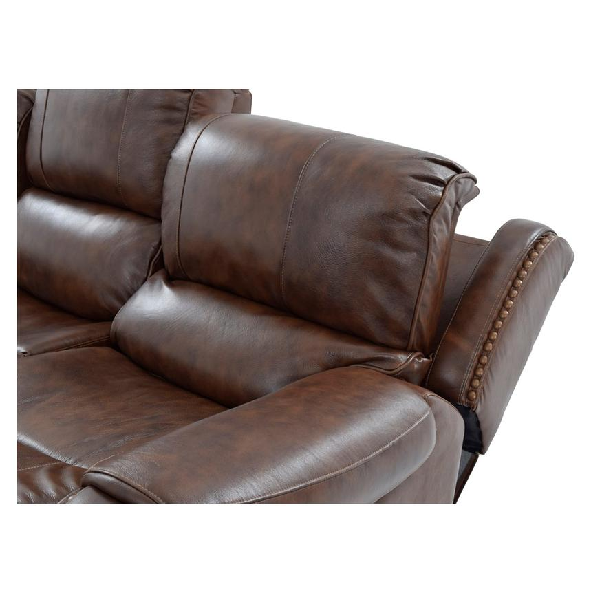 Durham Leather Power Reclining Sofa  alternate image, 6 of 10 images.