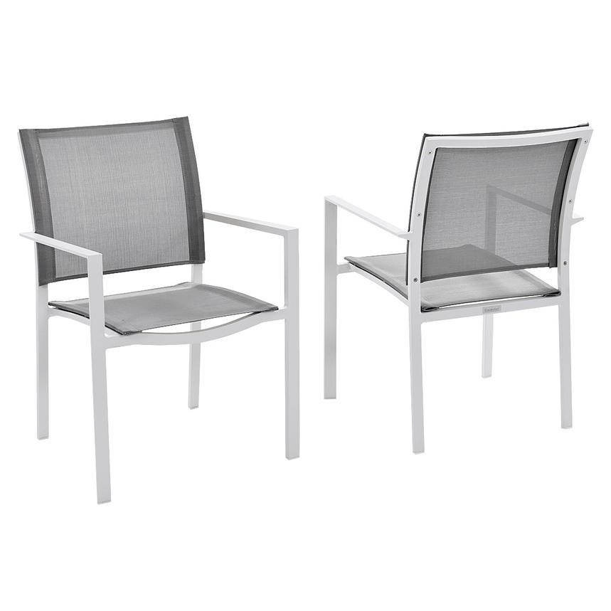 Mykonos Gray 5-Piece Patio Set  alternate image, 5 of 7 images.
