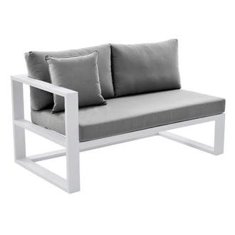 Mykonos Gray Left Sofa