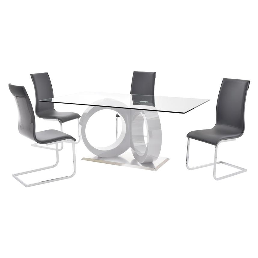 Stop 36 Gray 5-Piece Casual Dining Set  main image, 1 of 10 images.
