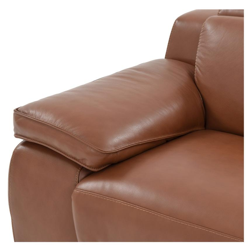Gian Marco Tan Power Motion Leather Recliner  alternate image, 5 of 8 images.