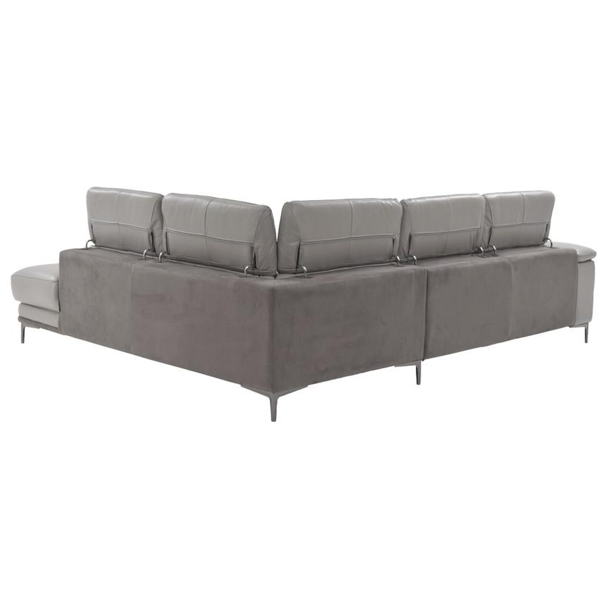 Richardson Leather Power Reclining Sofa w/Right Chaise  alternate image, 5 of 10 images.