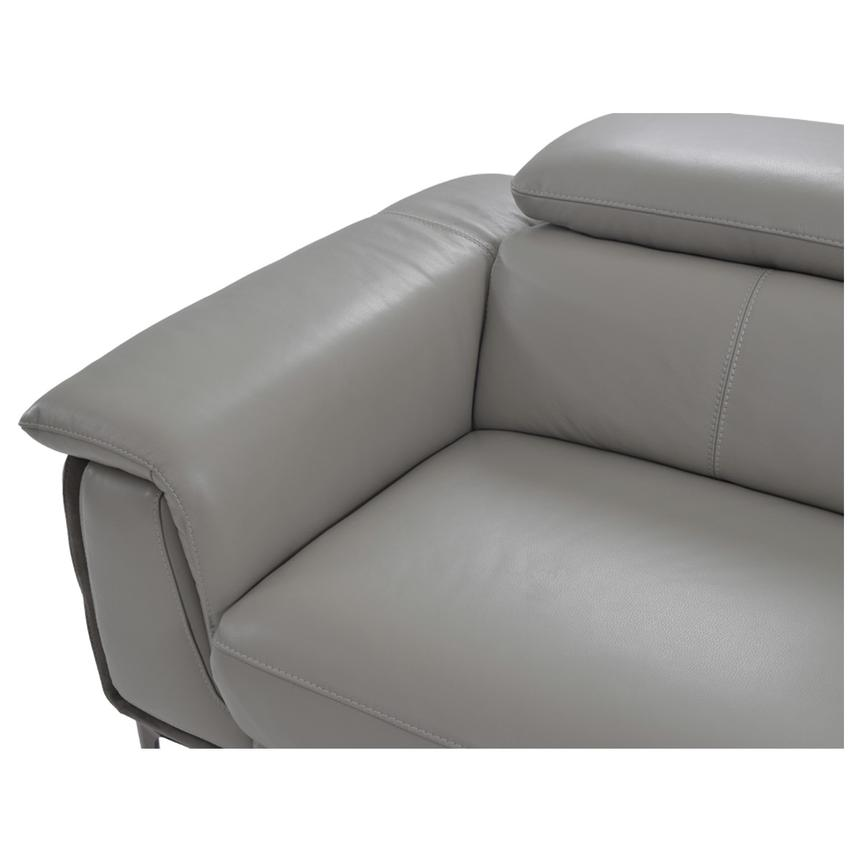Richardson Leather Power Reclining Sofa w/Right Chaise  alternate image, 6 of 12 images.