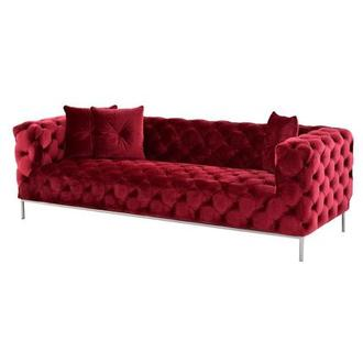 Crandon Red Sofa