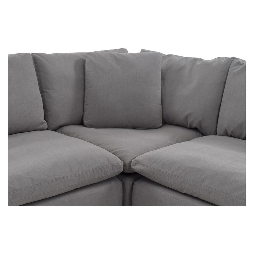 Nube II Gray Sectional Sofa  alternate image, 5 of 10 images.