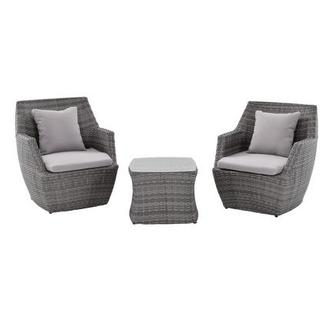 Neilina Gray 3-Piece Patio Set