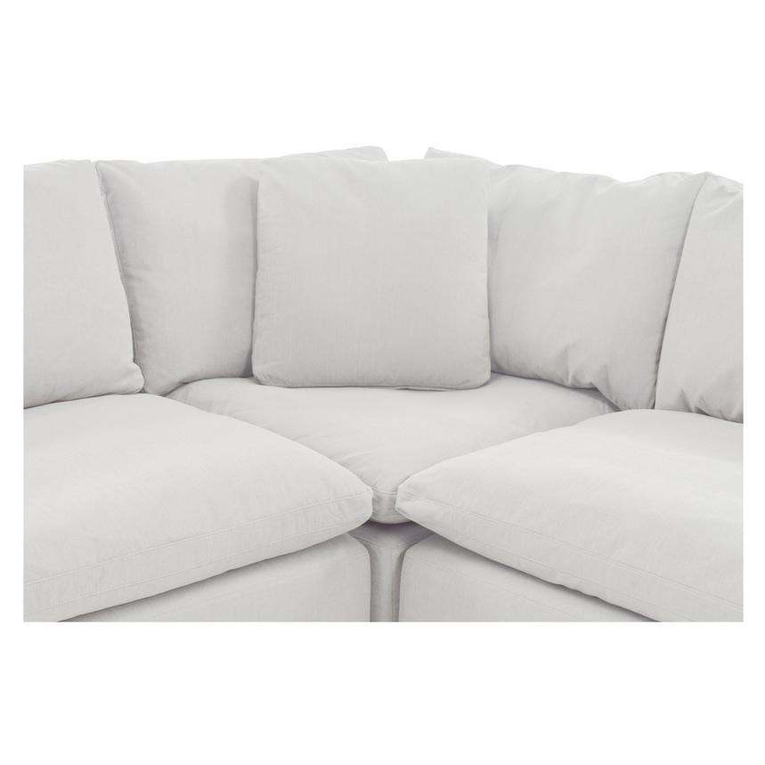 Nube II White Sectional Sofa  alternate image, 5 of 8 images.
