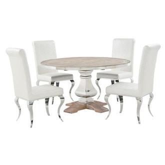 Wilma Lizbon 5 Piece Formal Dining Set