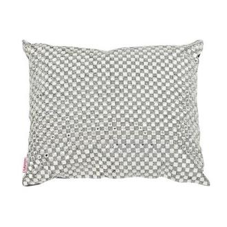 Dolce Silver Accent Pillow