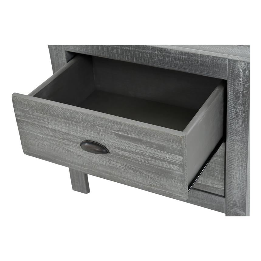 Montauk Gray Nightstand Made in Brazil  alternate image, 5 of 7 images.