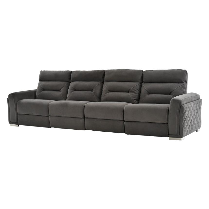 Kim Gray Oversized Sofa  main image, 1 of 13 images.
