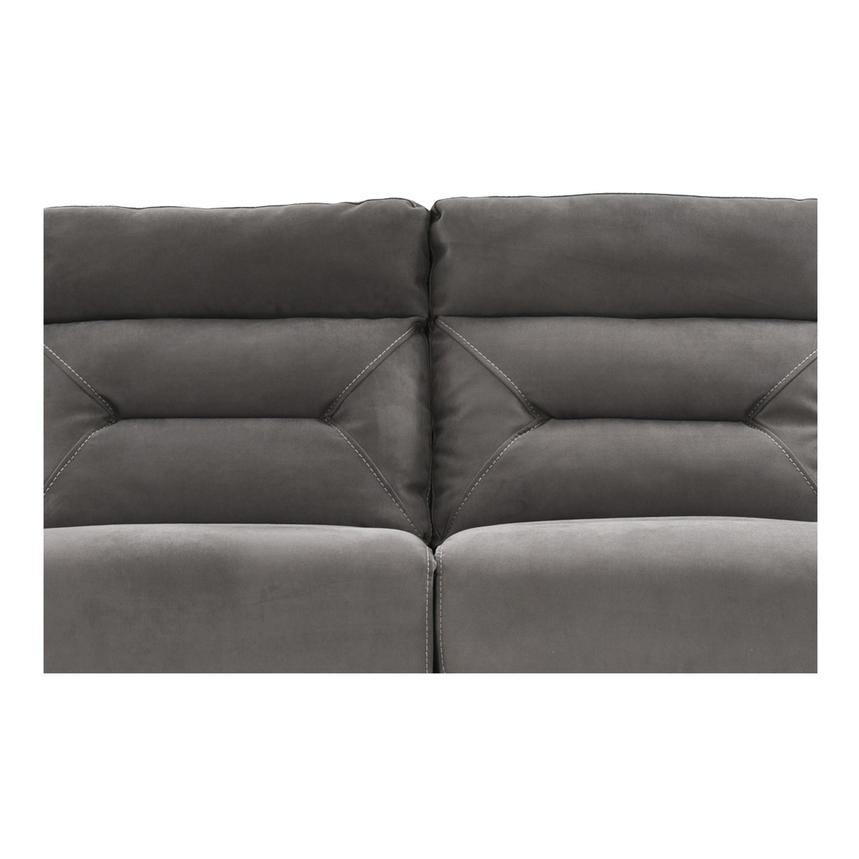 Kim Gray Power Motion Sofa w/Right & Left Recliners  alternate image, 6 of 12 images.