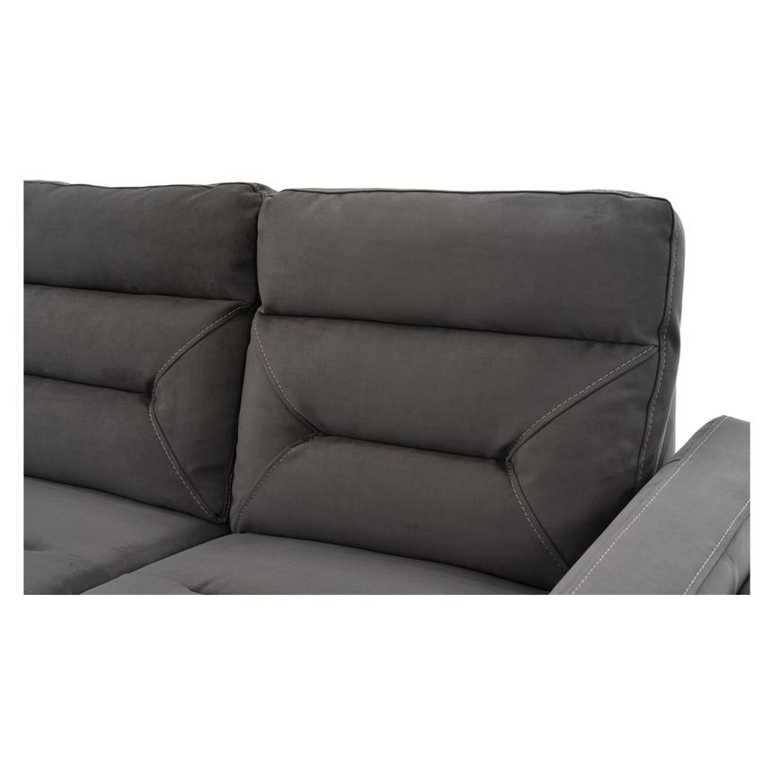 Kim Gray Power Motion Sofa w/Right & Left Recliners  alternate image, 11 of 12 images.