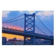 Franklin Bridge Set of 3 Acrylic Wall Art  alternate image, 3 of 3 images.