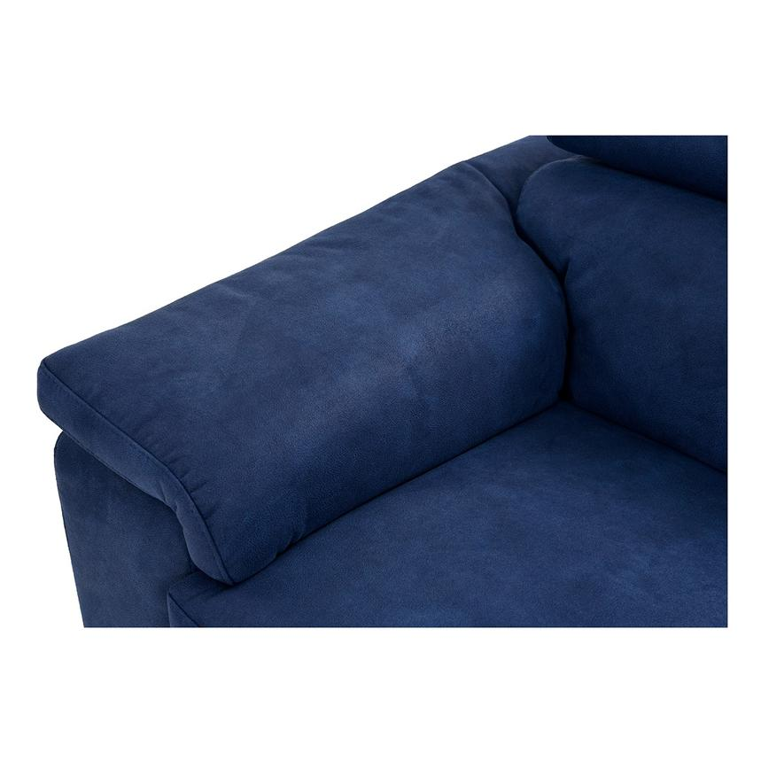 Kathan Blue Power Motion Sofa w/Right & Left Recliners  alternate image, 6 of 12 images.