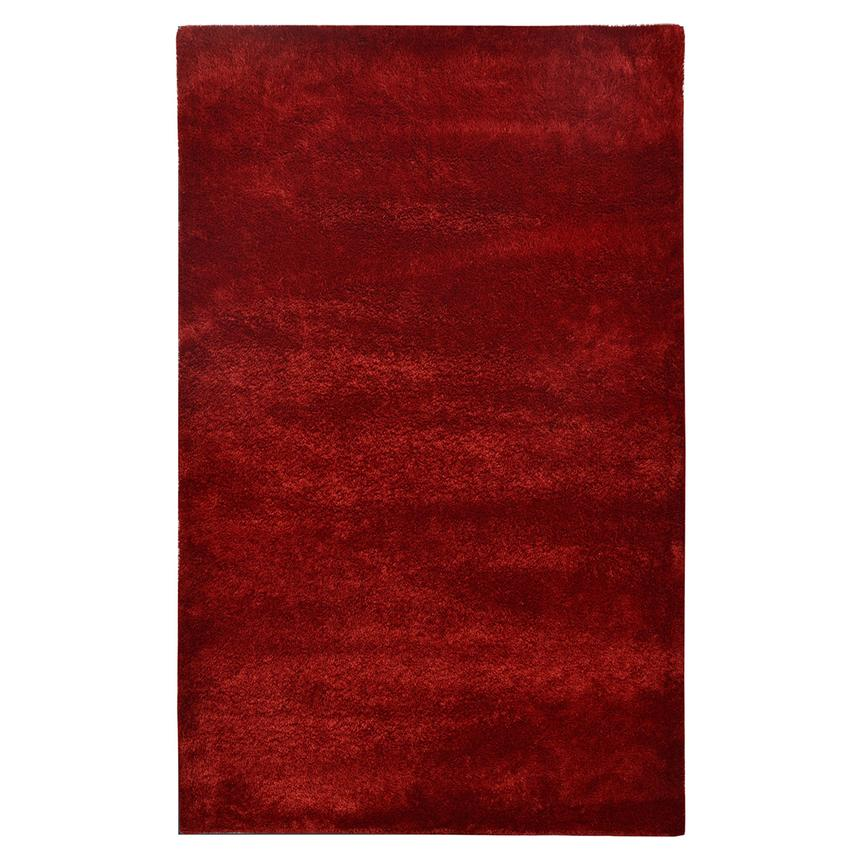 Chic Red 5' x 8' Area Rug  main image, 1 of 2 images.