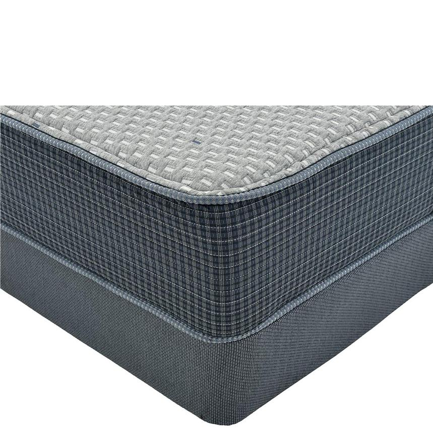 Marshall HB Full Mattress w/Regular Foundation by Simmons Beautyrest Silver  main image, 1 of 4 images.