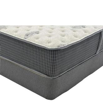 Bay Point Twin Mattress w/Regular Foundation by Simmons Beautyrest Silver