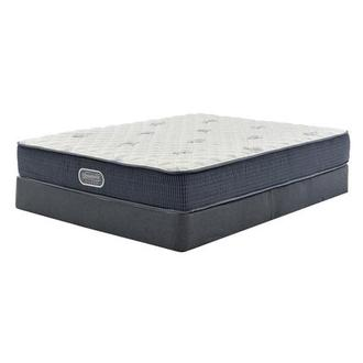 Pacific Heights Queen Mattress w/Regular Foundation by Simmons Beautyrest Silver