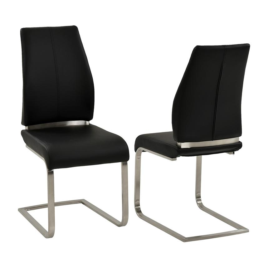 Maday Black Side Chair  main image, 1 of 4 images.