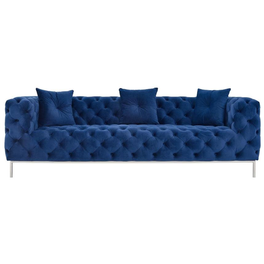 Crandon Blue Sofa  main image, 1 of 5 images.