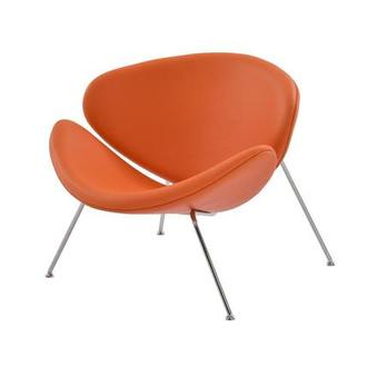 Posh Orange Accent Chair