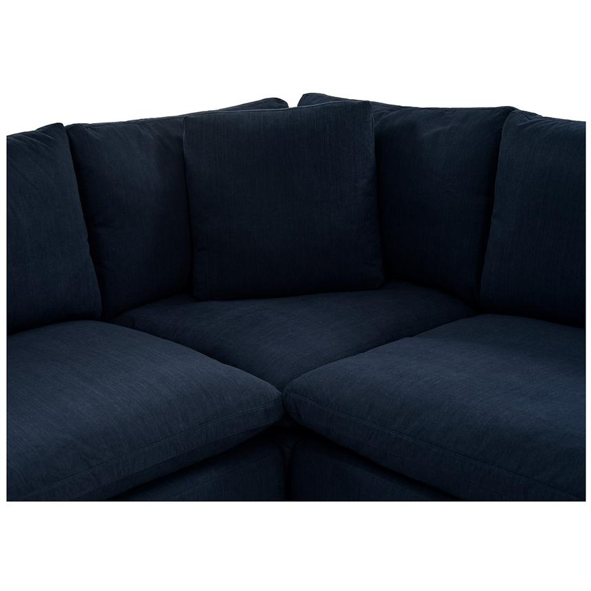 Nube II Blue Sectional Sofa  alternate image, 5 of 10 images.