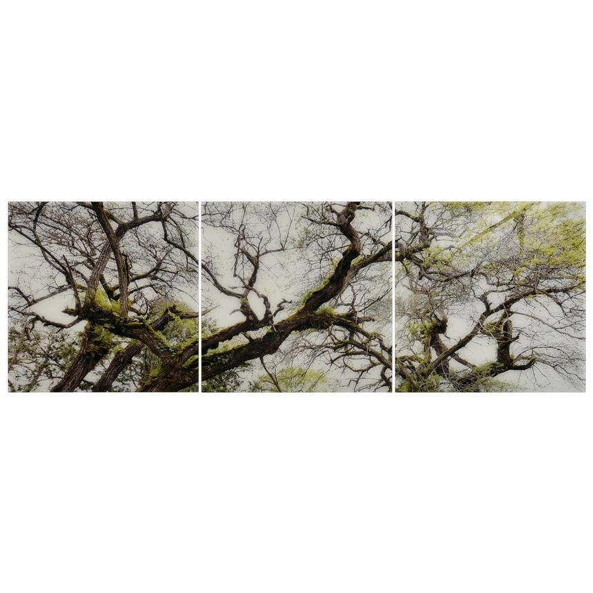 Arbre Set of 3 Acrylic Wall Art  main image, 1 of 4 images.