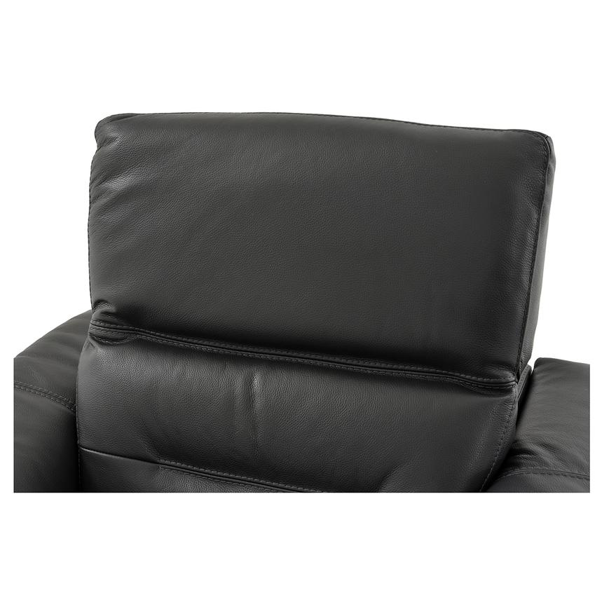 Anabel Gray Power Motion Leather Recliner  alternate image, 6 of 11 images.