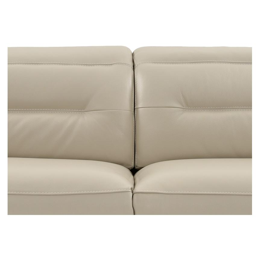 Anabel Cream Power Motion Leather Sofa  alternate image, 6 of 11 images.